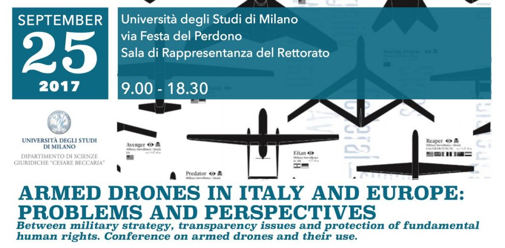 Report Conference On Armed Drones In Italy And Europe
