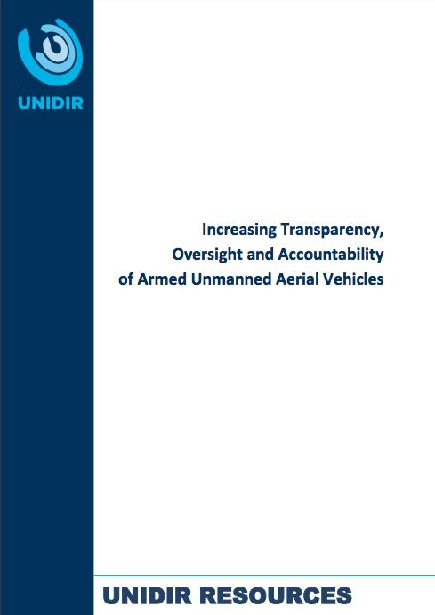 UNIDIR Study on Drones