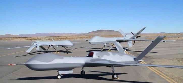 A Predator, Reaper, and Avenger drone.