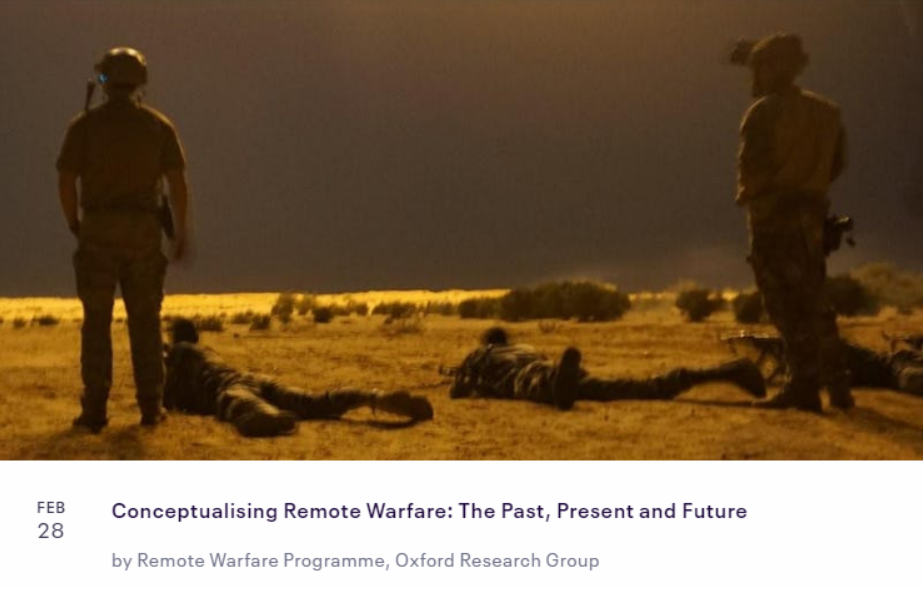 Remote Warfare Conference
