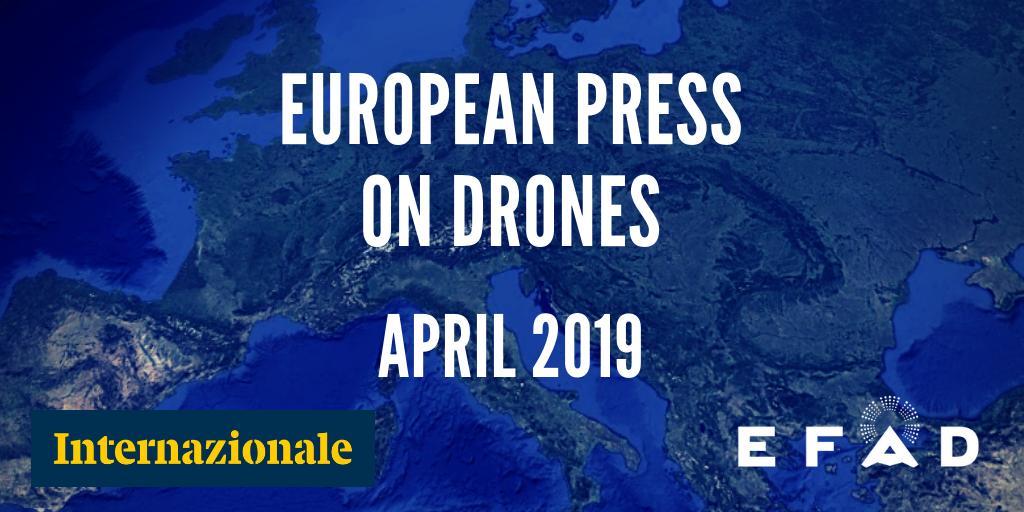 Armed Drones April